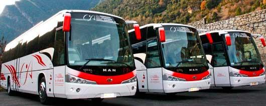 Автобусы в Андорре