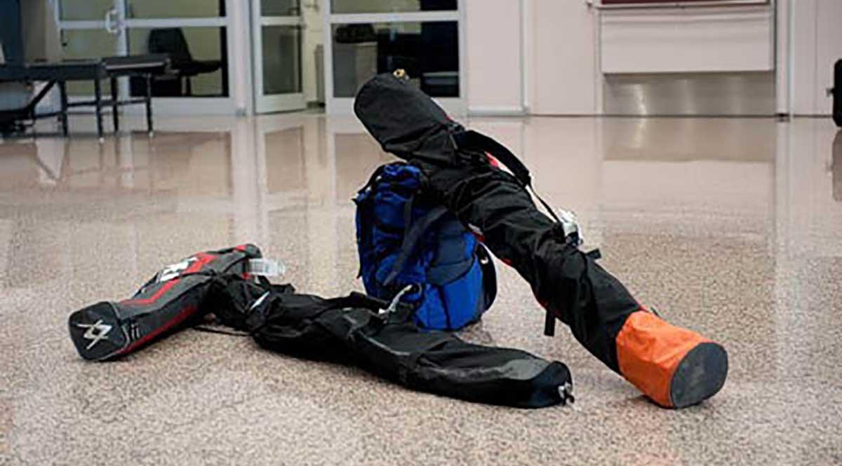 Перевозка горнолыжного снаряжения