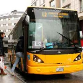 Автобус в Андорре