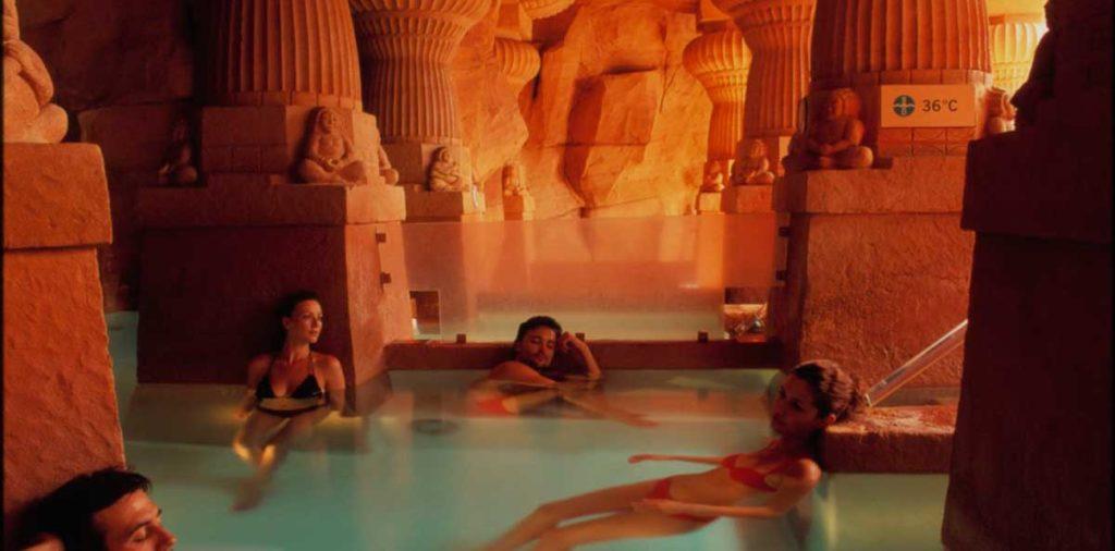Кальдеа. Римские бани