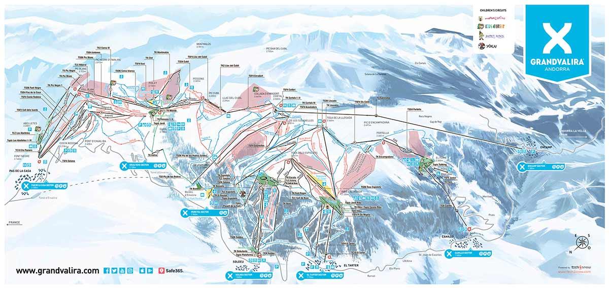 Карта Грандвалира