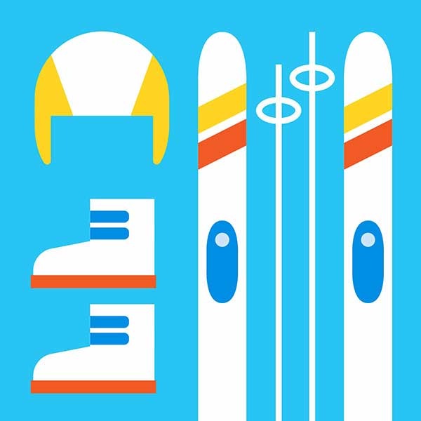 прокат лыж