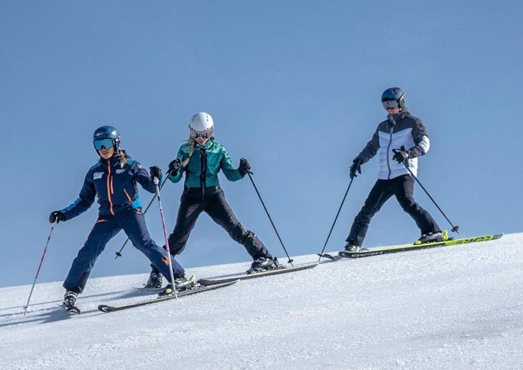 Урок в горнолыжной школе Андорры